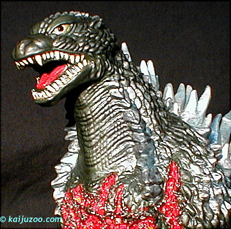 Kaijuzoo Bandai Battle Damaged Godzilla 2003 Kz 12 05 2