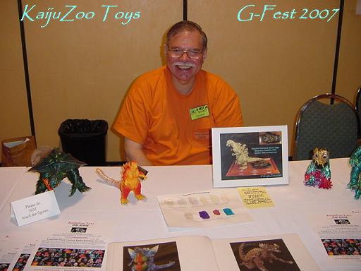 KaijuZoo at G-Fest 2007
