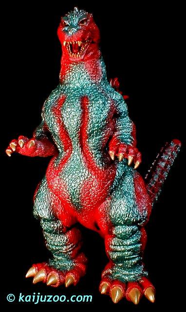 Godzilla 2005 Toys KaijuZoo Custom Ghido-...