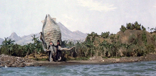 Panoramic Gezora Film Scene