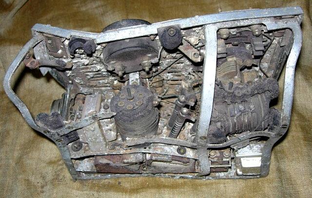 Type 96-1 Transmitter Relic (rear)